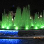 Fontana di fronte alla Moschea Blu