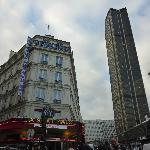 hotel e torre di Montparnasse