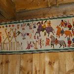 In Vikingermuseum in Borg