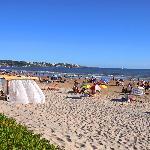 La playa de Portezuelo a metros del Hotel