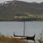 Vikingerschiff beim Museum Borg