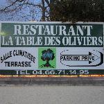 Le restaurant u Clos des Capitelles
