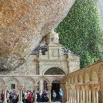 Monasterio antiguo de San Juan de la Peña.