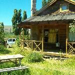 Vista desde la parrilla individual- cabaña n°5