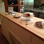 Dessert in the Kitchen