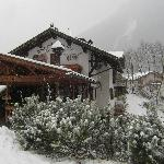 L'agriturismo: nevicata 2012