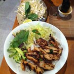 Vermicelli with veg and chicken - fantastic!