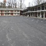 Motel complex, view from front office