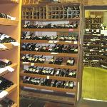 Walls and walls of fine wines
