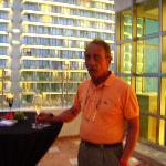 Día feliz en Cancún, recepción de Moet,Chandon