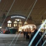main train station right next door