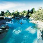 Hanmer Springs Hot Pools - 5 minute walk from Motel