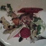 Hotel's own grown winter vegetable salad - really yum!