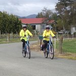 Cycling in Mapua