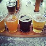 Peg's beer sampler
