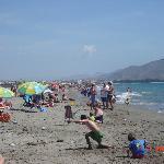 Mañana de Domingo muy animada en El Playazo de Vera.