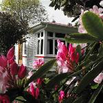 The Garden House near Fortrose, NZ
