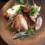 plat2: roasted succulent quail with crunch cabbage. perfectly executed and dish of the day.
