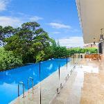 Balcony & pool
