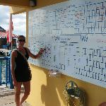 Dive Boat Schedule and Diver Sign In