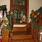 Stairs and decorations