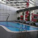 the swimming pool is on 6th floor but awesome!