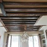 Beautiful ceiling beams