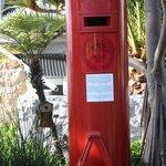 Hier wurden früher Schuhe als Postkasten benutzt