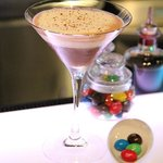 M&M's in a cocktail...sounds strange, but it was delicious!