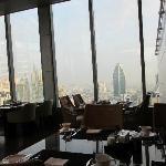 朝レストランからの眺め