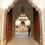 entrance to the Haveli courtyard
