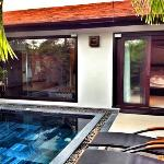 Private pool villa = bliss!