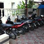 Motorcycles for rent