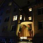 kvälls bild på hotellet