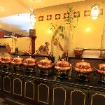 Sulaimania - buffet area