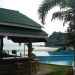 Pool / bar area