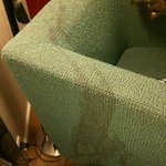 Stains on armchair