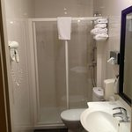 ensuite is ok. I am not convinced the cleaner was too good though, failed to deal with broken i