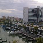 View of right side of the Marina from the hotel