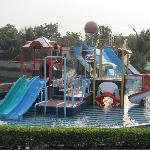 Water park within the property