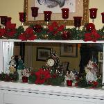 Dining Room Mantle