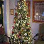 Christmas Tree in parlor