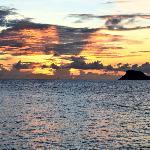 Sunset at Palm Island