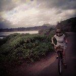 riding bikes in kapaa!