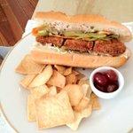 Pork Katsu sandwich - yum