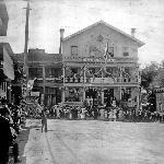 Main St. In Jackson CA, Mid 1800's