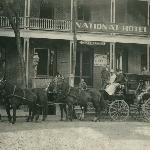 The National Hotel Mid To Late 1800's