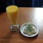 Sugar cookie with OJ