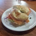 Lox Bagel (a must)
