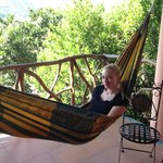 Hammock - Our room balcony